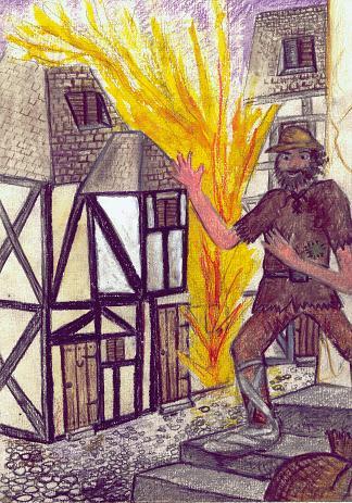 Beggars Of Blacksand Cover Illustration