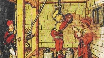 Medieval Torture Scene (Hans Spiess)