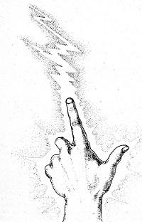 Hand of spell caster